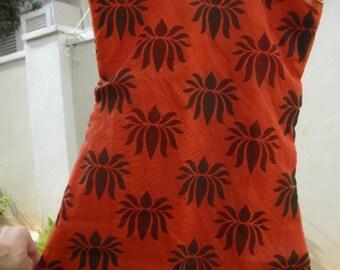 Family Matching Set - Toddler Girls Lined Ethnic Indian Cotton Sleeveless Dress - Kishore 2872