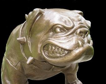 No Trespassin' ... English Bulldog Mascot
