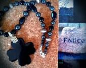 Black Irish Stone Necklace