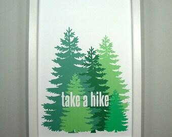 Take a Hike - FRAMED Print