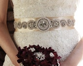 Bridal Sash Belt, Bridal Sash , Rose Gold Wedding Sash Belt , Crystal Wedding Belt, Crystal Bridal Sash, Wedding Belt