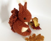 Coco The Squirrel - Amigurumi Pattern