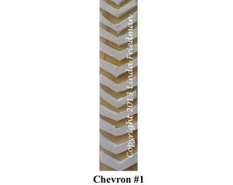 Stamp for Fabric - Chevron No. 1