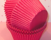 Jumbo Brite Pink Cupcake Liners   (32)