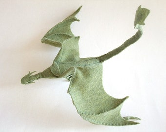 Plush Poseable Dragon PATTERN (PDF)