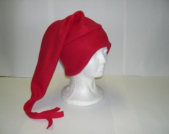 Fleece Nite Cap Hat Pick your own solid color NEW Adult/Childs