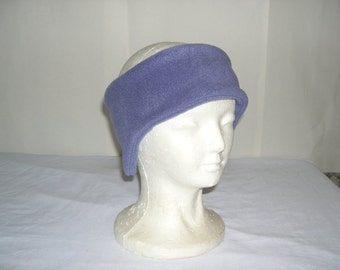 Fleece Velcro Headband Pick your own solid color NEW Adult/Childs