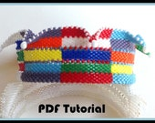 PDF Tutorial for Jester Multi-colored Jester Bracelet