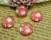Handmade Glass Cabochon 10pcs 12mm Image Glass Cabochon P74--20% OFF