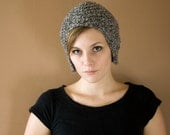 Wool Aviator Cap - Women's Knit Hat - Choose your COLOR