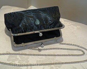 Chain Handle Strap Add-On Option in silver/antique gold/bright gold for clutch purse bag