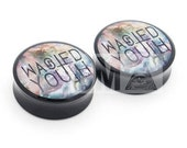 0g (8mm) Wasted Youth Galaxy BMA Plugs Single Flare Pair