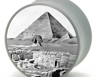 "7/16"" (11mm) Pyramid in Egypt Power Plugs by BMA Pair"