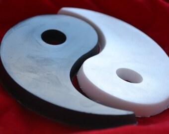 Yin and Yang Novelty Soap - Taijitu Soap - Chinese Philosophy - Novelty Soap