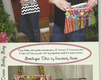 Sale!  Rachel Cross Body Bag pattern (SDG-111) - Serendipity Studio