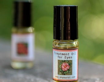 Organic Treatment Oil for Eyes