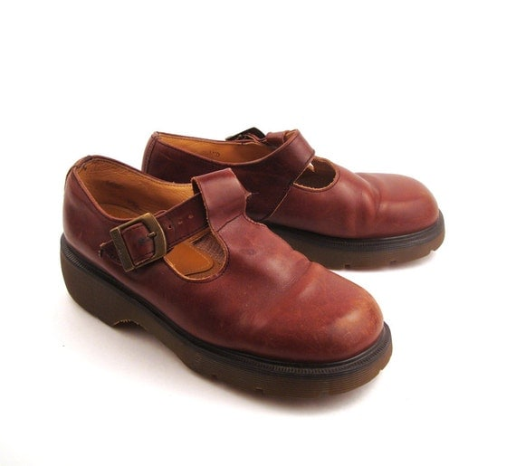 dr martens shoes mary janes 1990 doc brown by. Black Bedroom Furniture Sets. Home Design Ideas