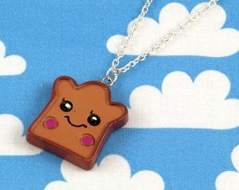 Kawaii Toast Necklace