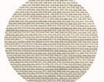 "Wichelt Imports - White Chocolate Linen 32 count 18"" x 27"" Needlework Fabric"