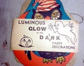 3-Pack 1948 Glow-in-the-Dark Halloween Party Decoration ALL THREE Designs Still Work