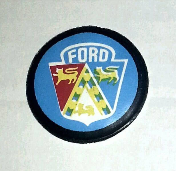 1974 Ford TAURUS Logo Advertising Slogan Magnet