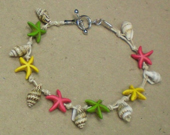 Anklet Starfish Shell