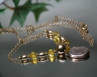 Hayward Vintage Gold Filled Necklace with Locket