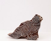 Hand Carved Stamps Bird 204