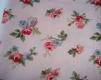 SALE Penelope by Lakehouse Pink Floral one yard