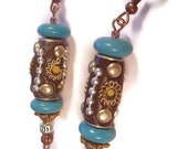 BOLLYWOOD STAR Beaded Dangle Earrings