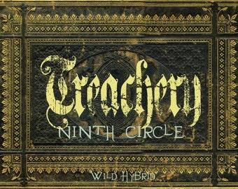 Ninth Circle - Treachery perfume oil - 5ml - Petitgrain, whisky, pomegranate, rose, dill seed, green apple, geranium and malt