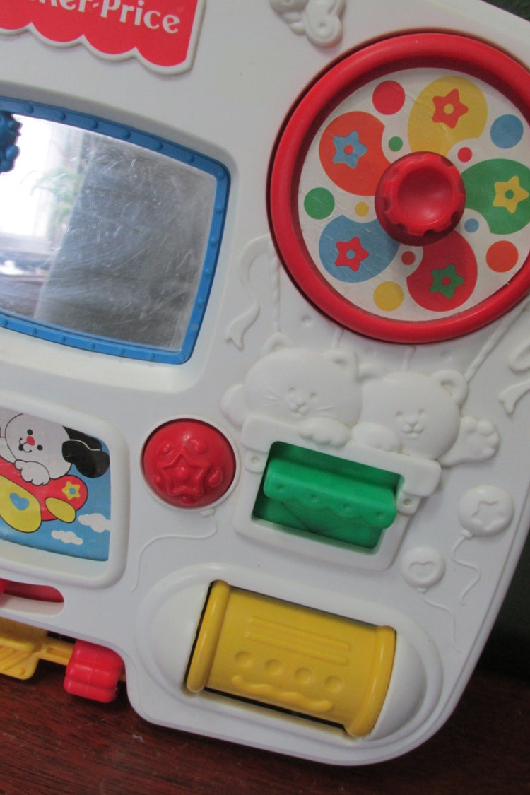 Fisher Price Crib Toys : Fisher price activity center crib toy by luruuniques