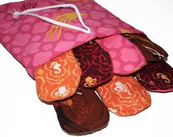 "Custom Mimi's Dreams Starter Package ""The Mini"" with Bag- Pantyliners & Mini Pads"