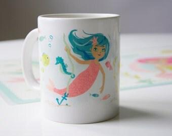 Mermaid Mug -- 11 oz. ceramic