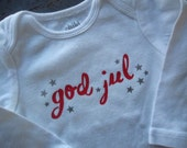 God Jul Bodysuit / 6-12 months