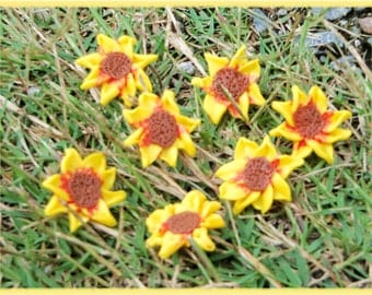 Sunflowers 3/4 inch