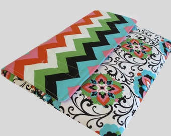 MacBook Air Sleeve, MacBook Air Case, MacBook Air 11 Inch Sleeve, MacBook Air 11 Case, MacBook Air Cover Chevron Flower