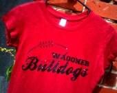 Custom football shirt glitter design your own