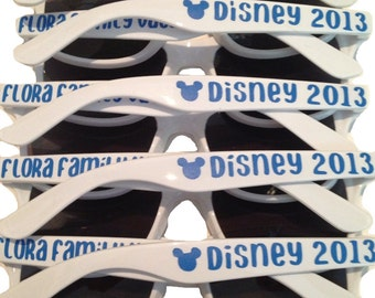 Family Vacation Sunglasses, Disney Vacation, Mickey Mouse Accessories, Disney Cruise, Birthday Party Favor, Family Reunion, Disney Party