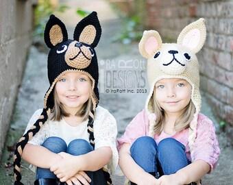 Handmade Crochet Chihuahua Hat MADE to ORDER Handmade Crochet Hat