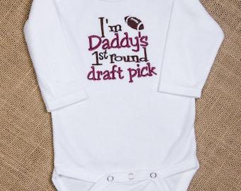 I'm Dad's FIRST round DRAFT pick