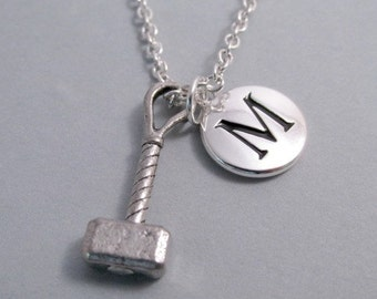 Thor's Hammer silver plated charm jewelry Supplies