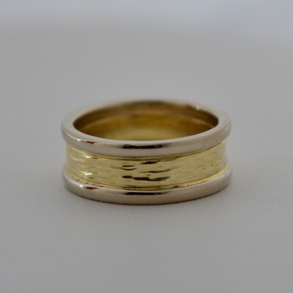 River ring 14k gold wedding bands made in maine for Maine wedding bands