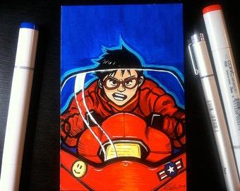Kaneda Marker Sketch