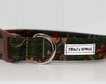 PBJ World Custom Collar...Leaf Me