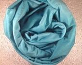 Fabulous Blue Green Arizona Dusk Sky Twinkle Star Jersey Infinity Loop Scarf - LIMITED STOCK