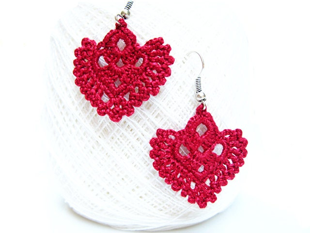 pdf patterns easy instructions diy crochet earrings crochet earrings diagrams