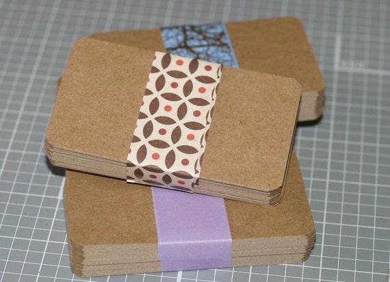 Chipboard business card blanks 100 lightweight kraft for Chipboard business cards