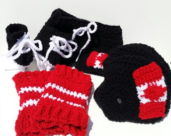Team Canada Baby Set, Team Canada, NHL Team Canada Helmet