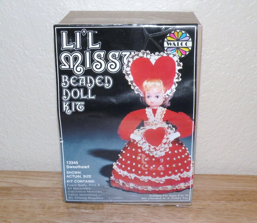 li l sweetheart 13345 beaded doll kit factory